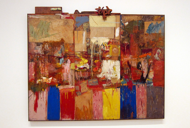 robert rauschenbergs almanac essay Milton ernest robert rauschenberg (october 22, 1925 - may 12, 2008) was an american painter and graphic artist whose early works anticipated the pop art movement.